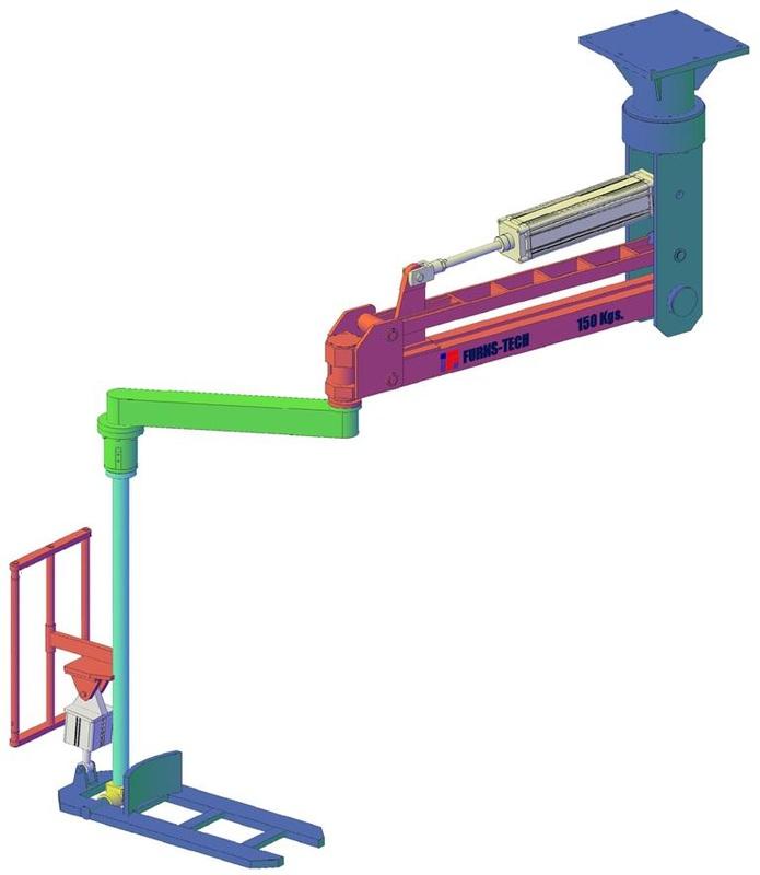 Pneumatic Manipulator Arms : Furns tech pneumatic manipulators furnstech